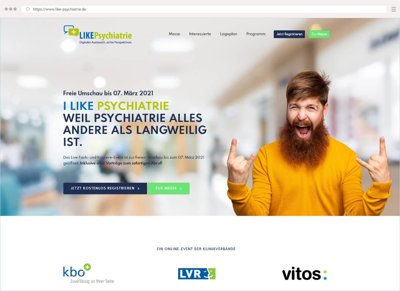 2. LIKE Psychiatrie – Voller Erfolg