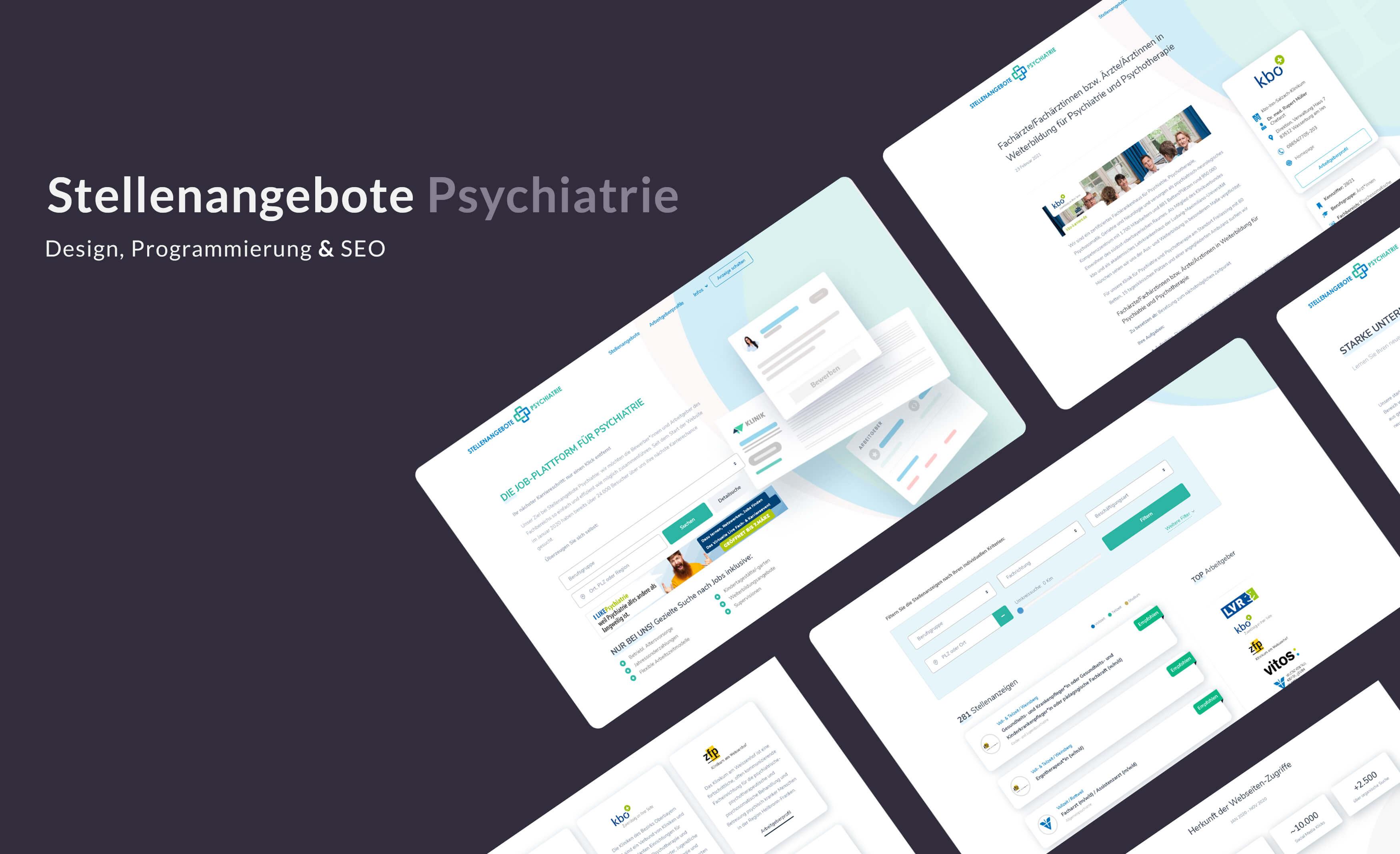 Stellenangebote Psychiatrie